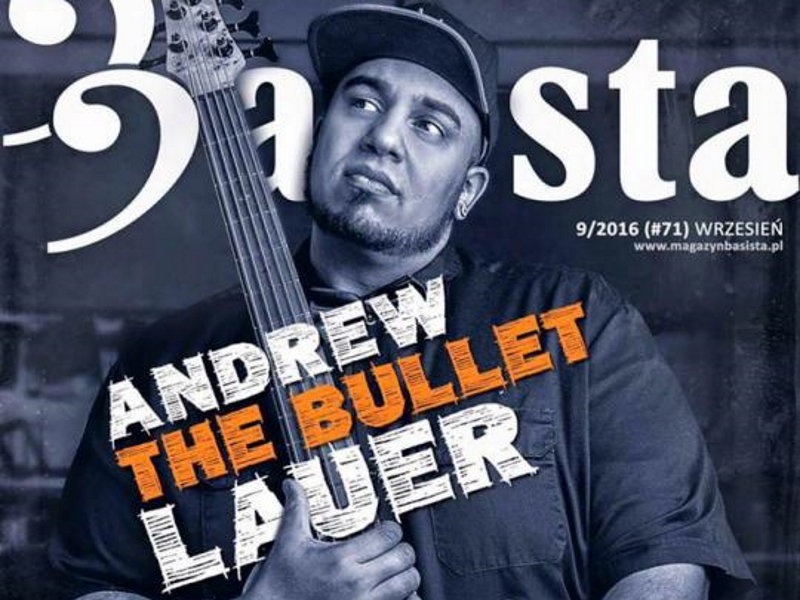 "Andrew ""The Bullet"" Lauer (USA, DE)"