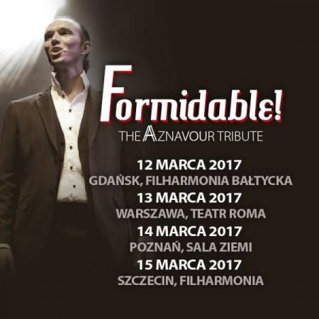 Wydarzenie odwołane: Formidable! The Aznavour Tribute