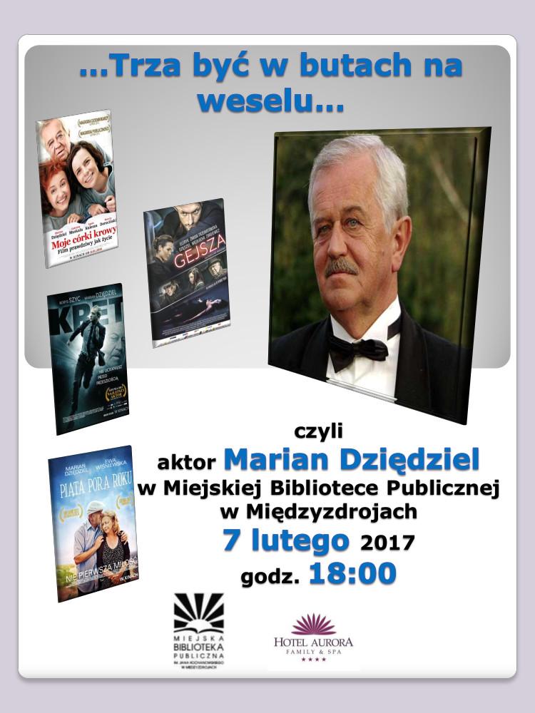 Spotkanie autorskie z Marianem Dziędzielem