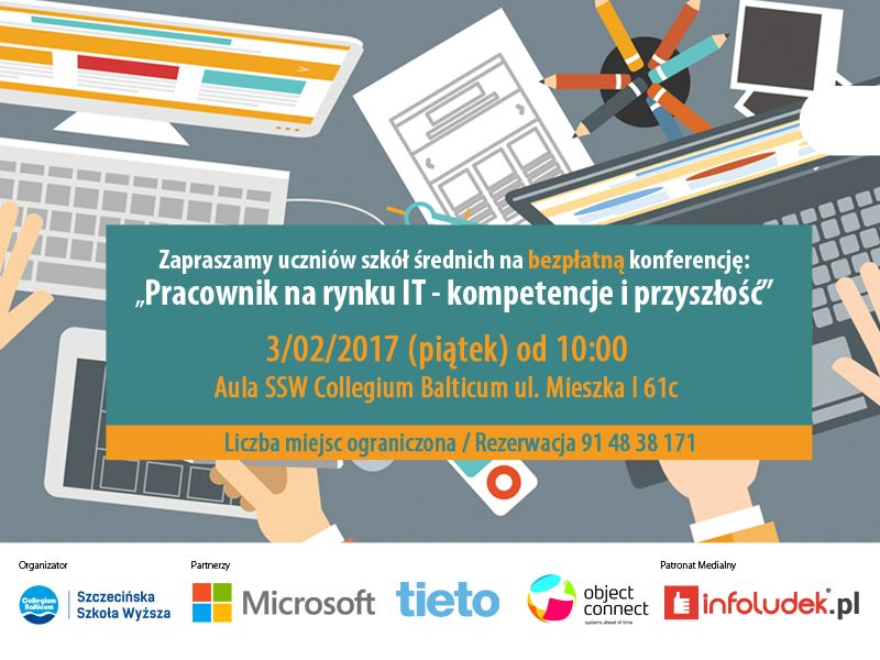 """Konferencja """"Pracownik na rynku IT - kompetencje i przyszłość"""""""