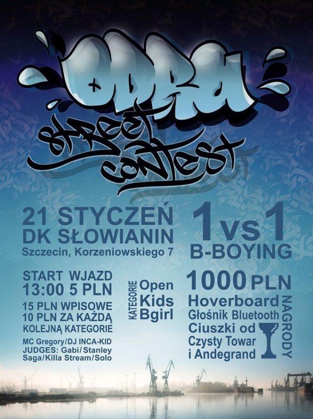 Odra Street Contest - bitwy tancerzy breakdance