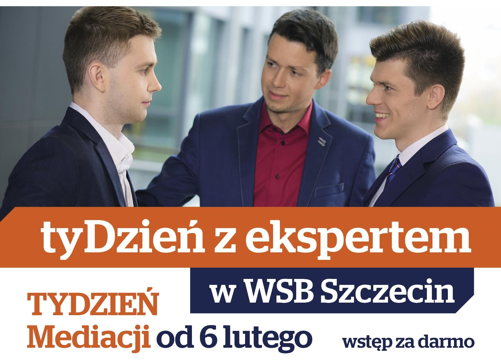 Tydzień Mediacji - cykl spotkań z ekspertami w WSB
