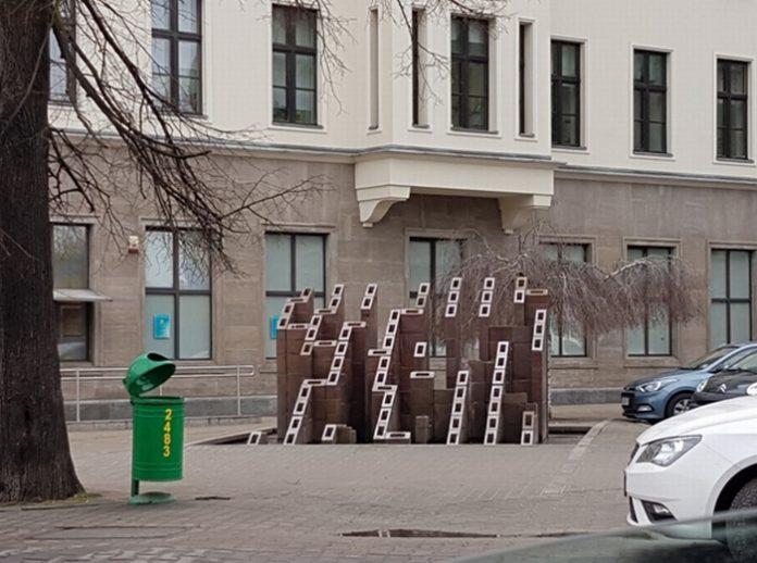 Labirynt na placu Zwycięstwa