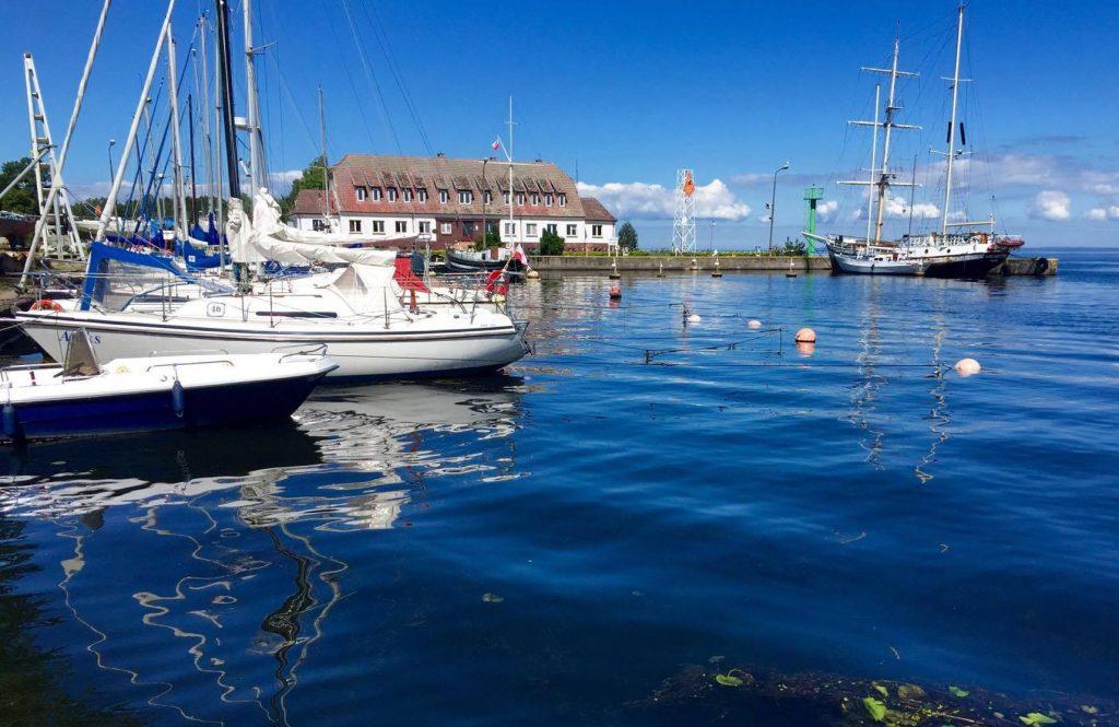 trzebież port jachtowy 2