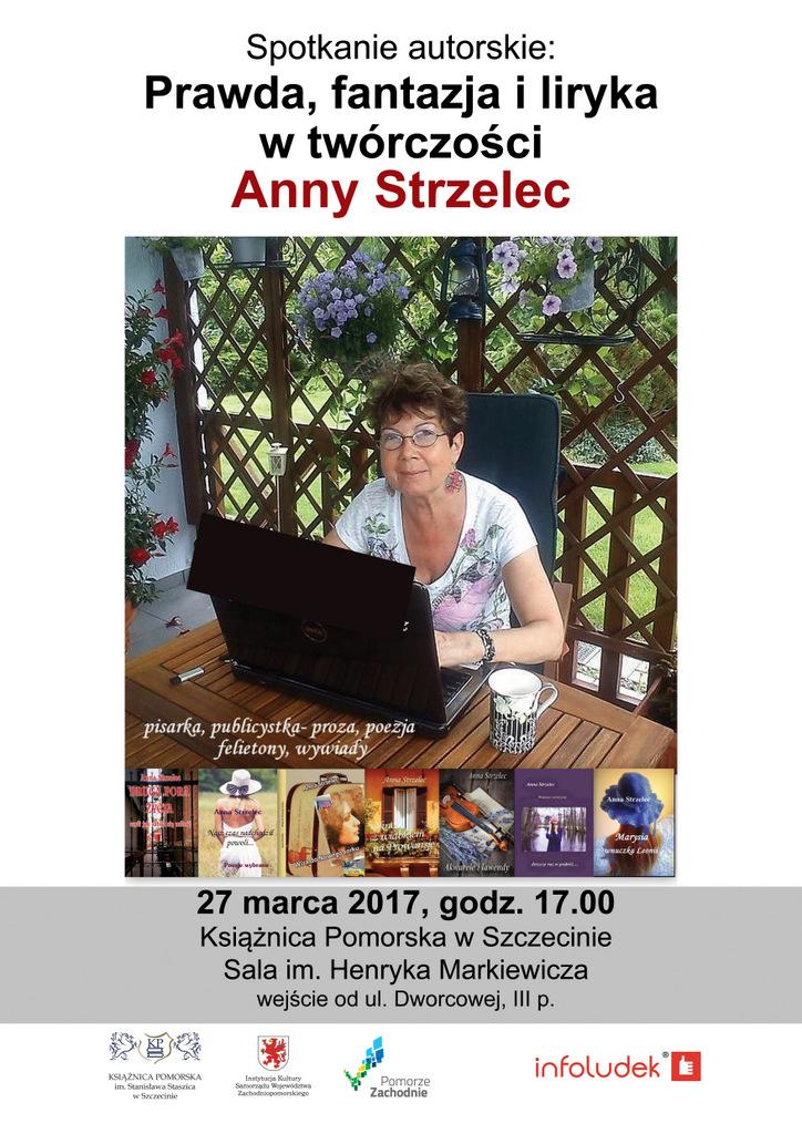 Spotkanie autorskie z Anną Strzelec