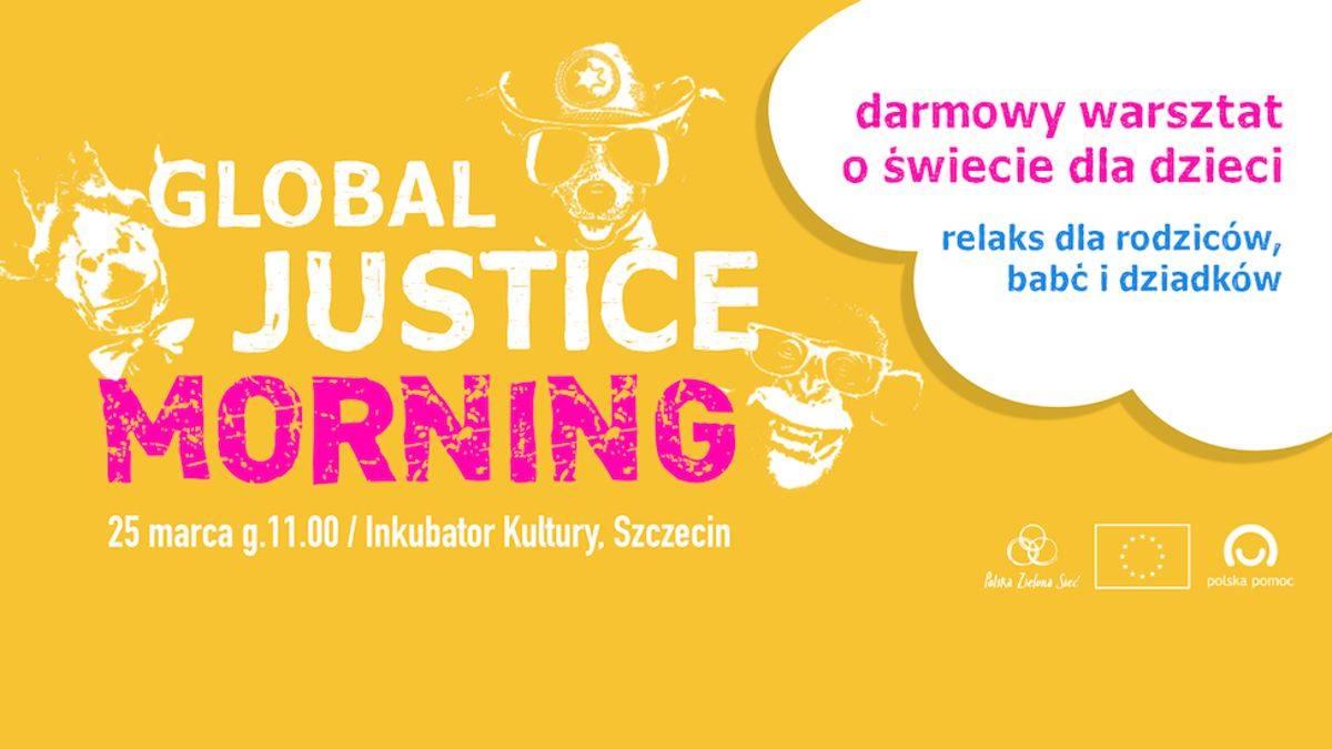 """Darmowy warsztat dla dzieci """"Global Justice Morning"""""""