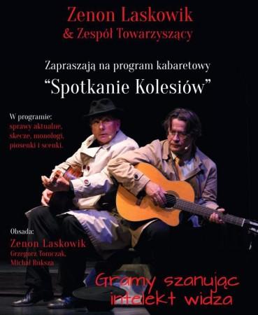 Zenon Laskowik - wydarzenie odwołane