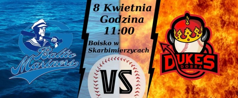 Baseball game - Greifswald Baltic Mariners VS Dobra Dukes