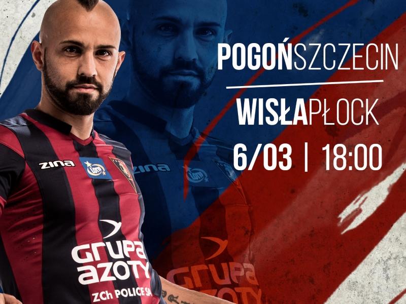 Mecz Pogoń Szczecin - Wisła Płock