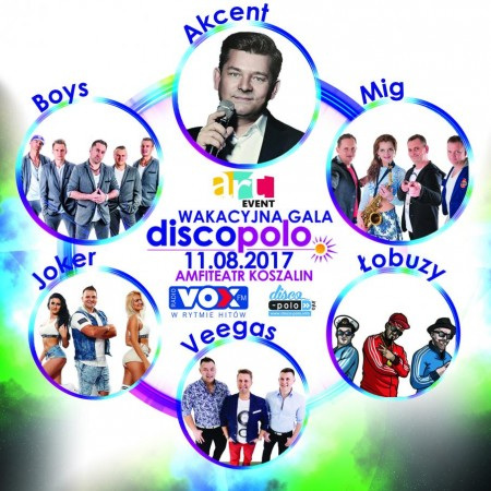 Wakacyjna Gala Disco Polo Koszalin