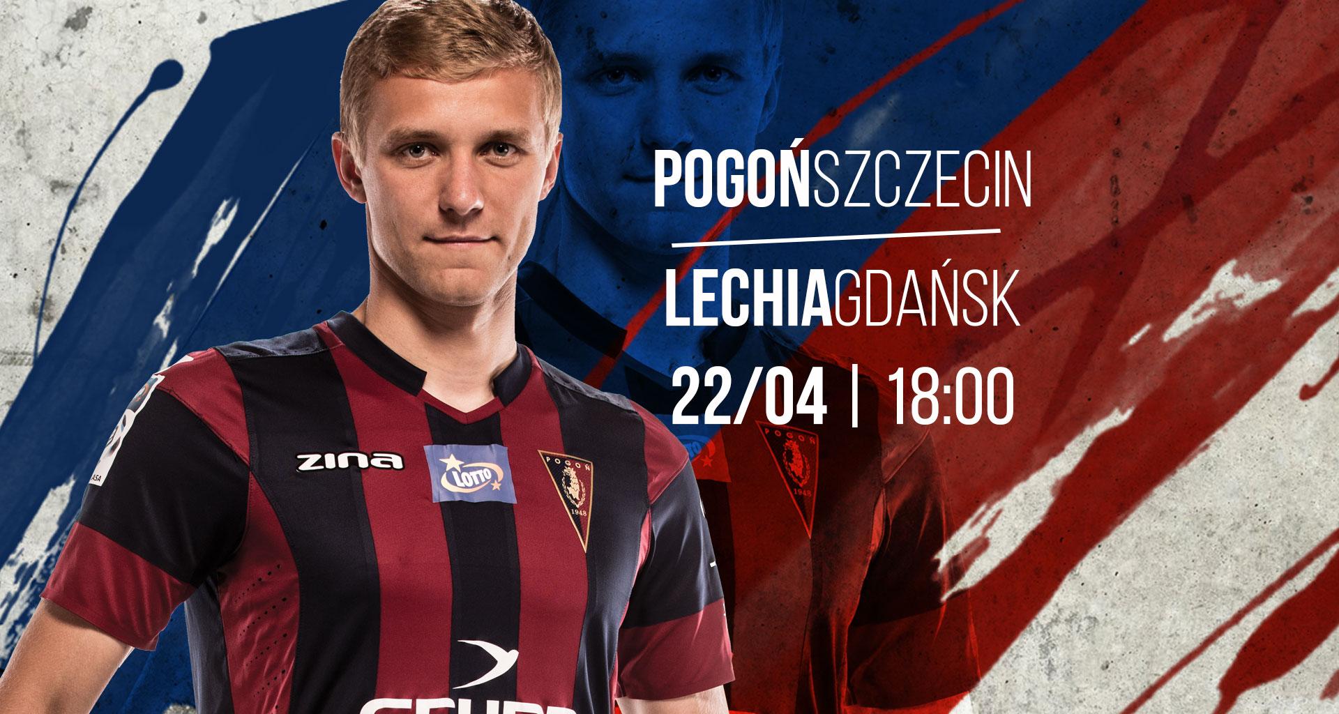 Mecz Pogoń Szczecin - Lechia Gdańsk