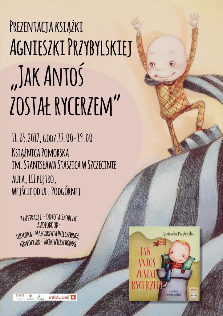 Spotkanie autorskie i prezentacja książki Agnieszki Przybylskiej