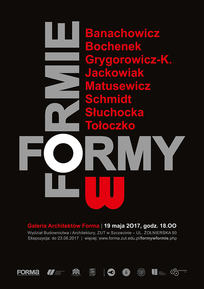 """Wernisaż wystawy zbiorowej pod tytułem """"FORMY w FORMIE"""""""