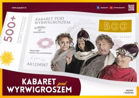 Kabaret pod Wyrwigroszem w programie 500+
