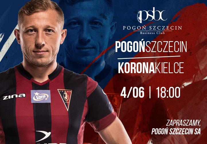 Mecz Pogoń Szczecin - Korona Kielce