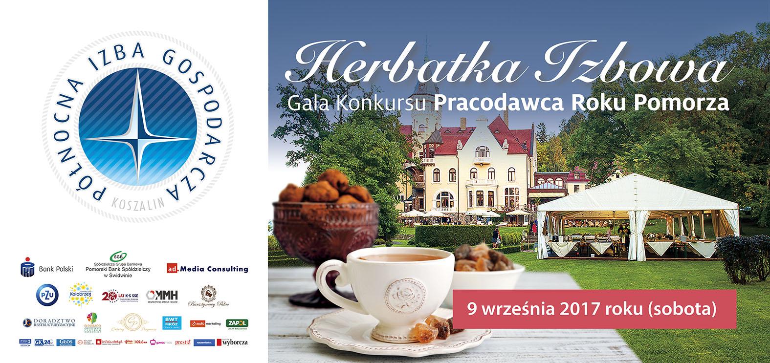 Herbatka Izbowa - Gala konkursu Pracodawca Roku Pomorza
