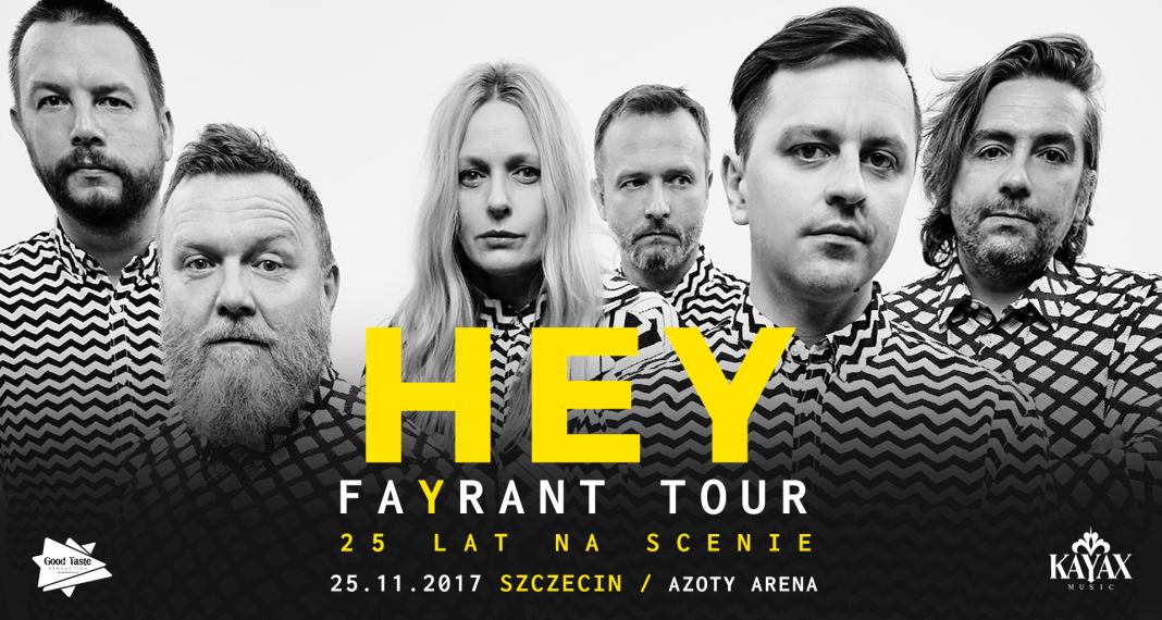 Jubileusz 25-lecia zespołu Hey w Arenie