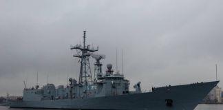 trzy okręty przypłyną do Szczecina