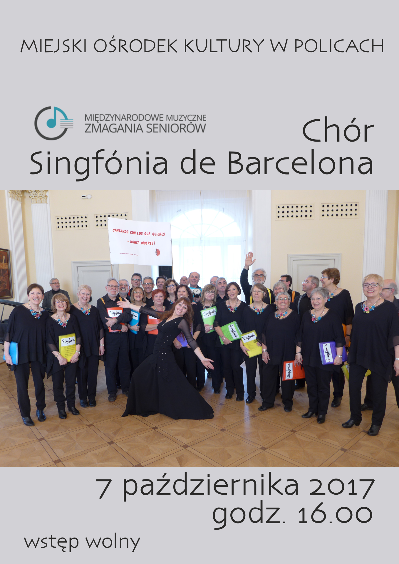 Koncert Chóru Singfónia de Barcelona z Hiszpanii