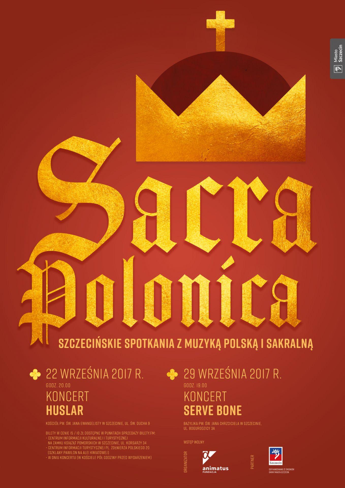 Szczecińskie Spotkania z Muzyką Polską i Sakralną – SERVE BONE