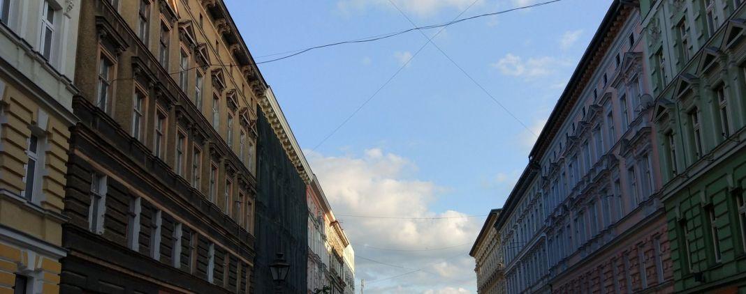 remont na ulicy Bogusława w Szczecinie