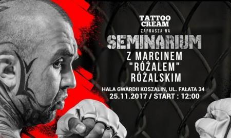Seminarium z zawodnikiem MMA Marcinem Różalem Różalskim