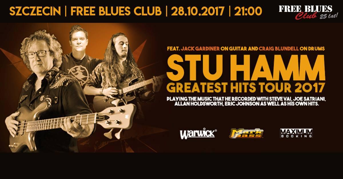 Stu Hamm (ex. Steve Vai, Joe Satriani)
