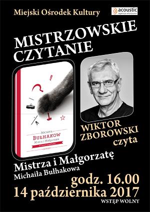 """Wiktor Zborowski czyta """"Mistrza i Małgorzatę"""""""