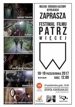 """Festiwal filmowy """"Patrz więcej"""""""