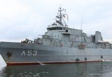 okręty wojenne w Szczecinie