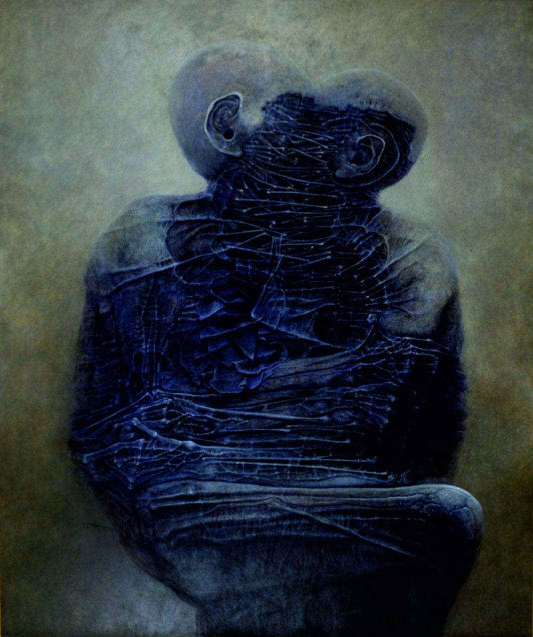 Wystawa Zdzisław Beksiński opowieść cieniem