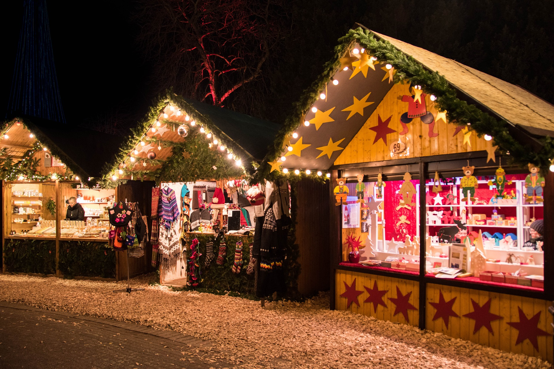 jarmarki świąteczne wSzczecinie