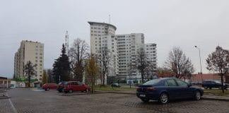 Parking na Osiedlu Bandurskiego w Szczecini