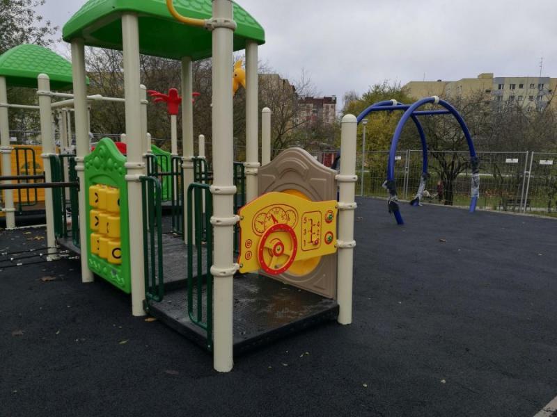 plac zabaw dla osób niepełnosprawnych wSzczecinie
