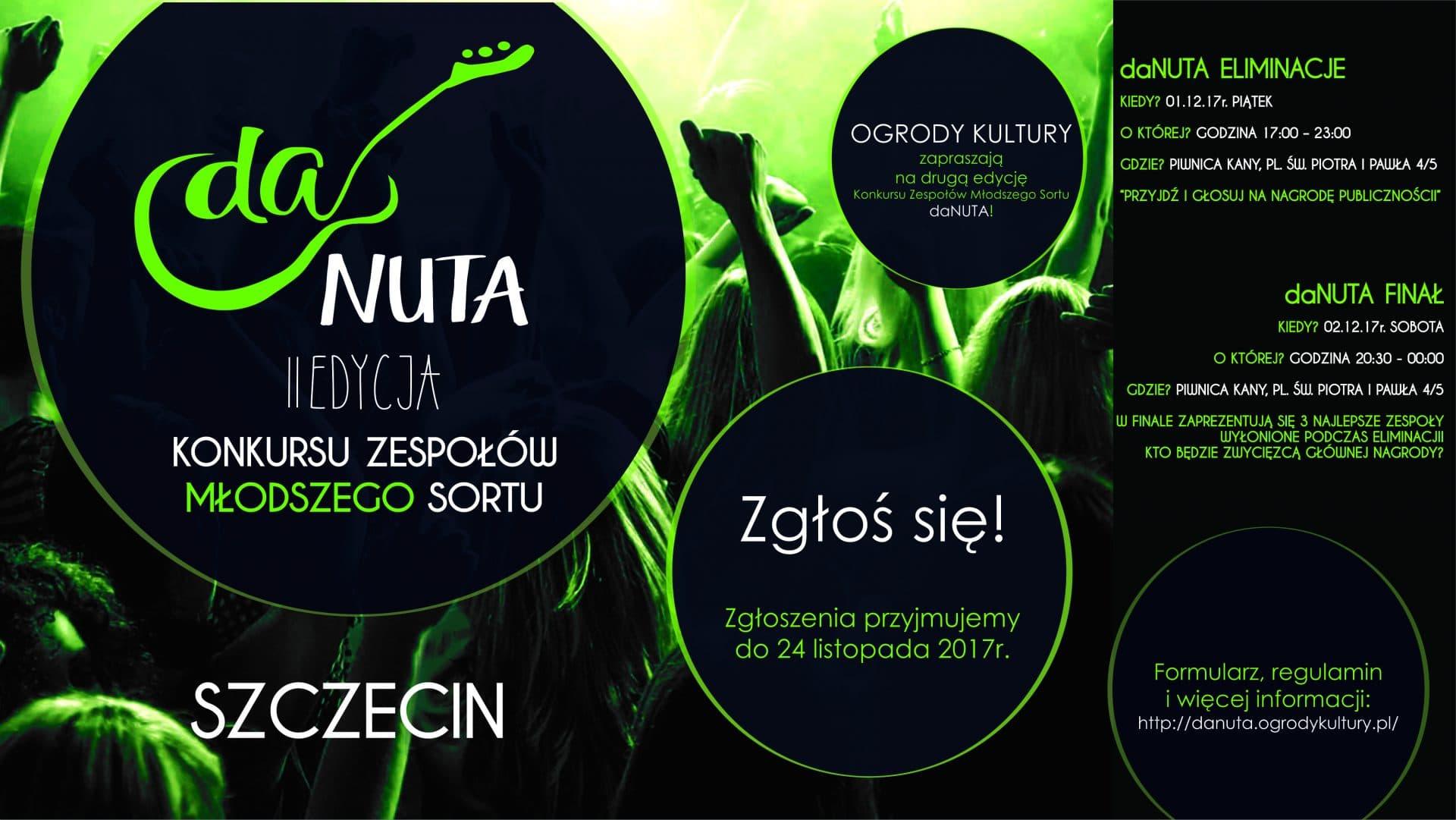 DaNuta - II edycja konkursu zespołów młodszego sortu