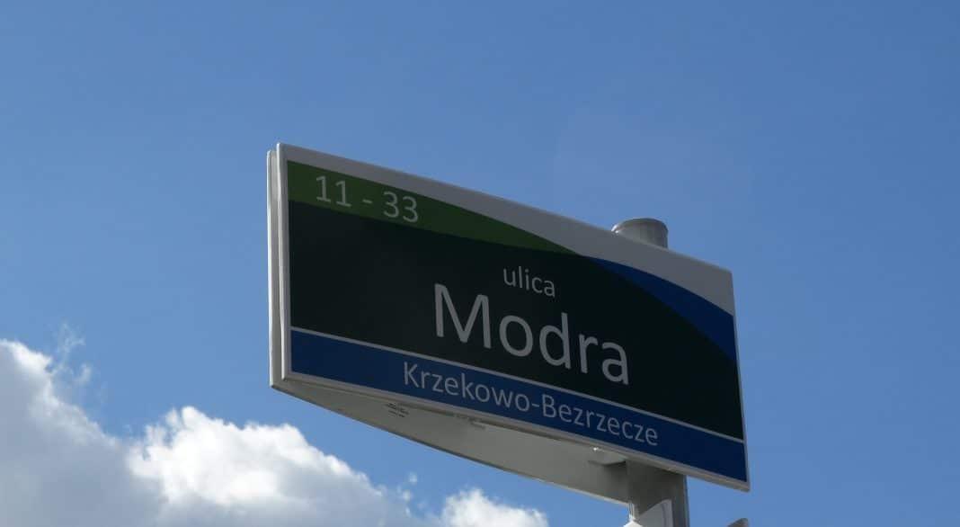 tablice z nazwami ulic w Szczecinie