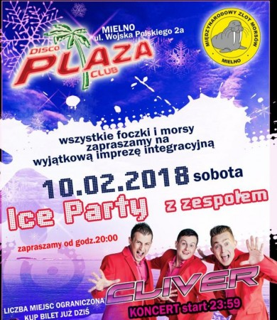 Disco Mors - Ice Party. Koncert Cliver