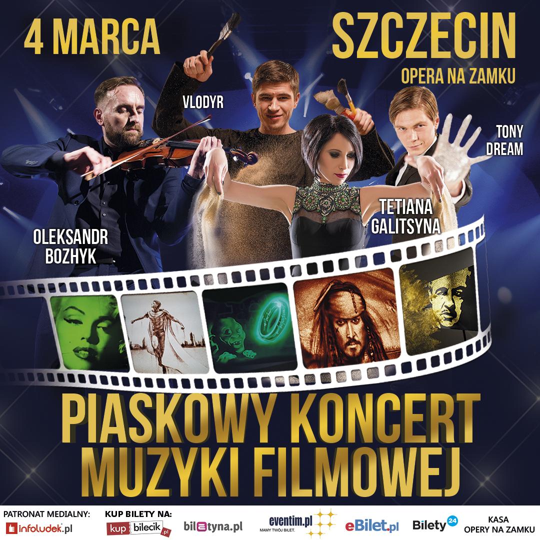 Teatr Piasku Tetiany Galitsyny - Piaskowy Koncert Muzyki Filmowej