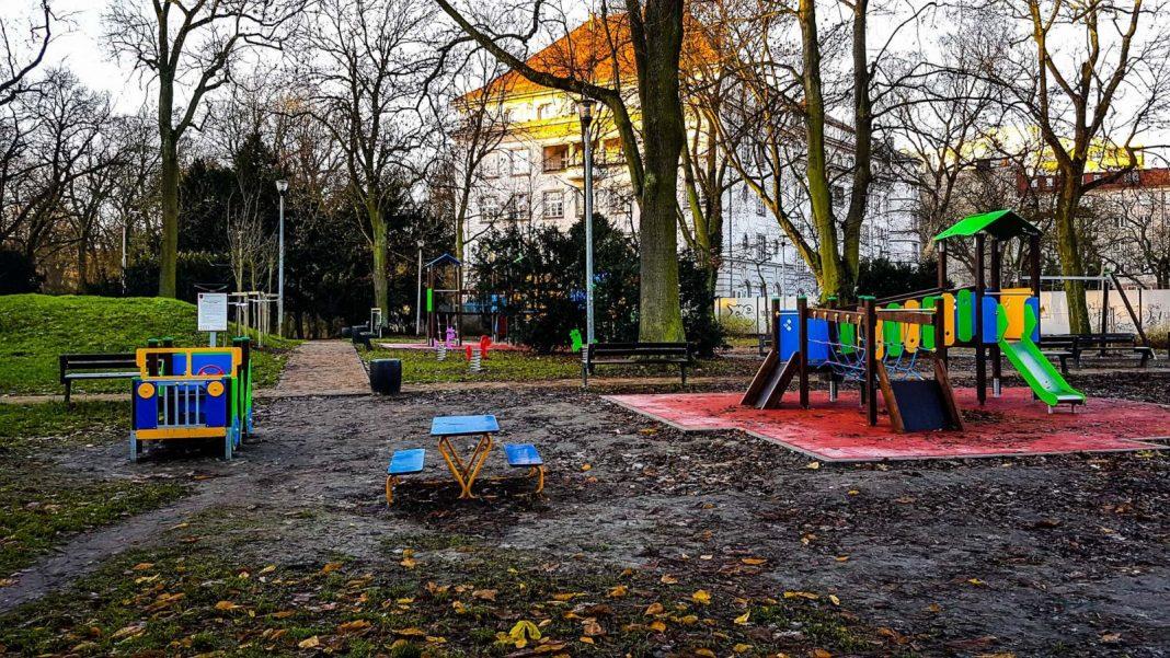 park im. Stanisława Nadratowskiego w Szczecinie
