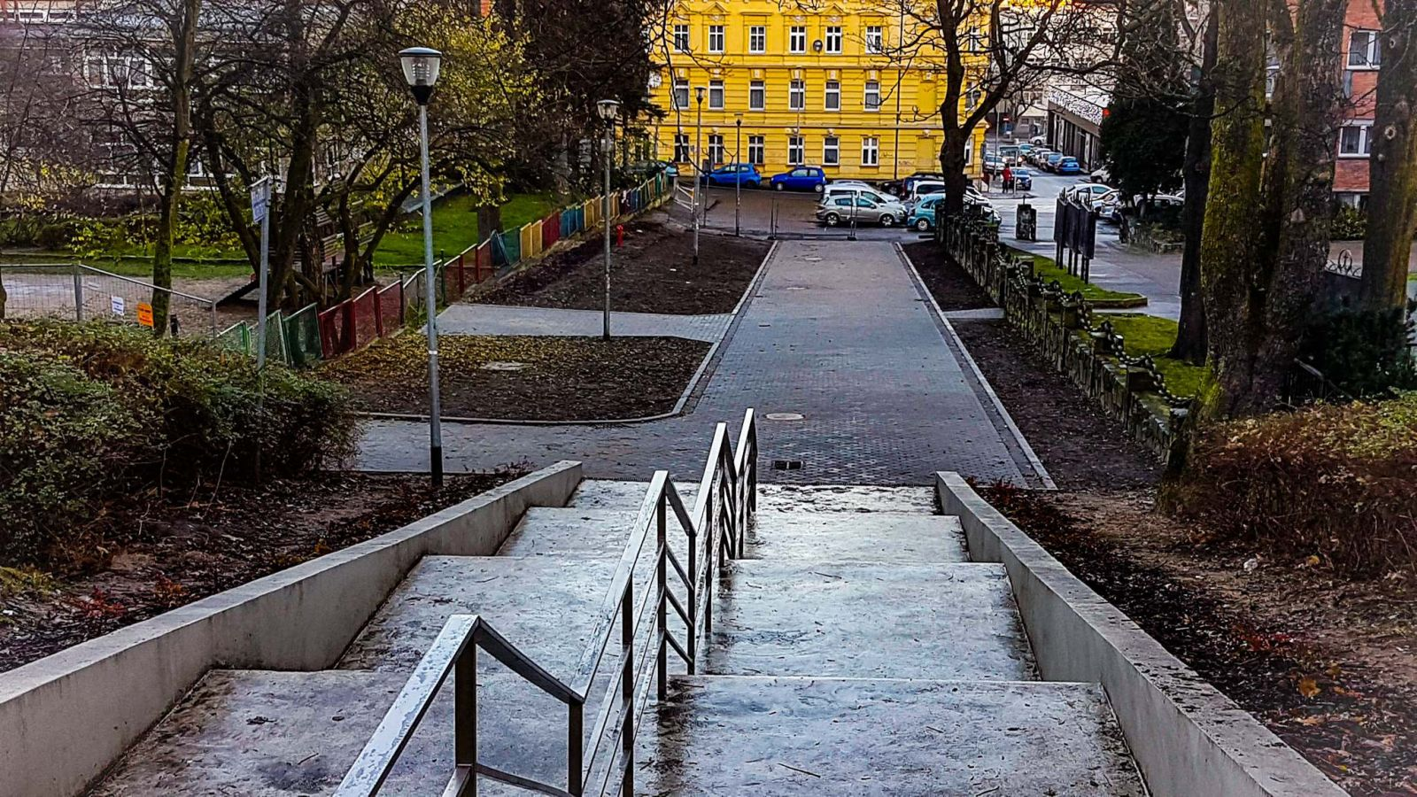 park im.Stanisława Nadratowskiego wSzczecinie