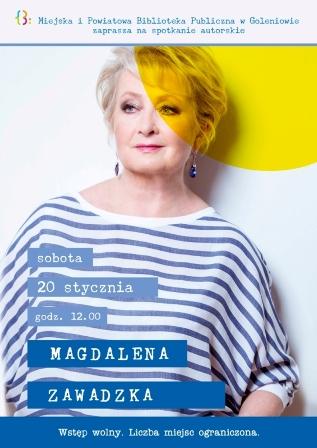 Spotkanie autorskie z Magdaleną Zawadzką