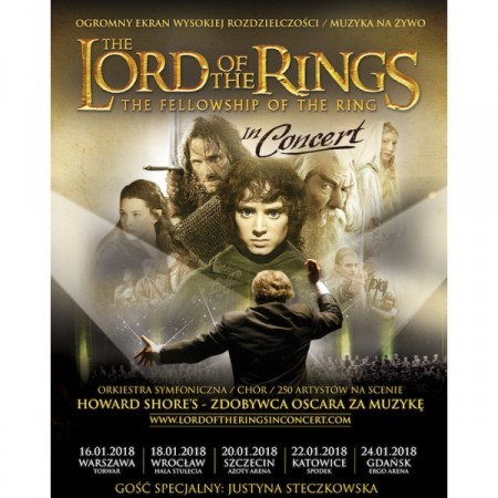 The Lords of The Rings: The Fellowship of The Ring in Concert (Władca Pierścieni: Drużyna Pierścienia)
