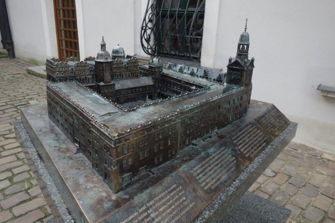 największa makieta z brązu w Polsce