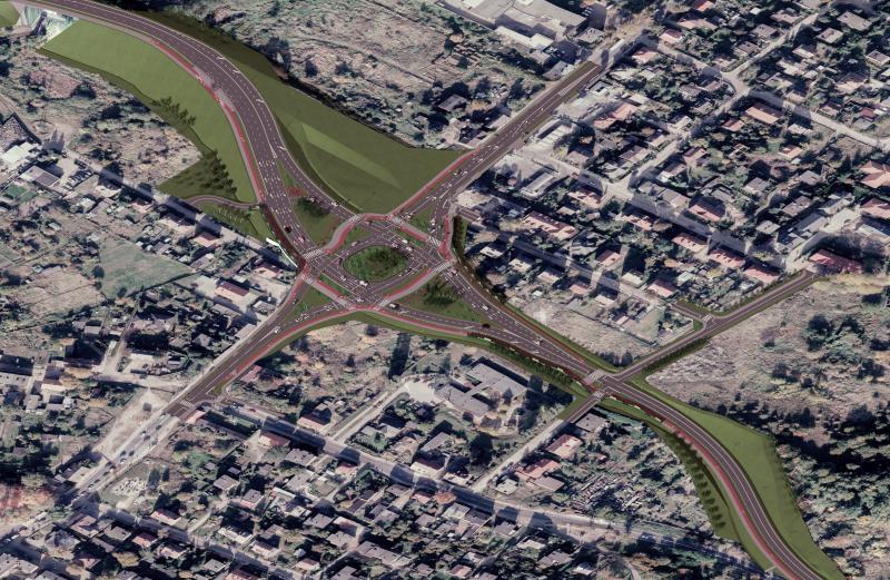 inwestycje wbudowę iprzebudowę dróg