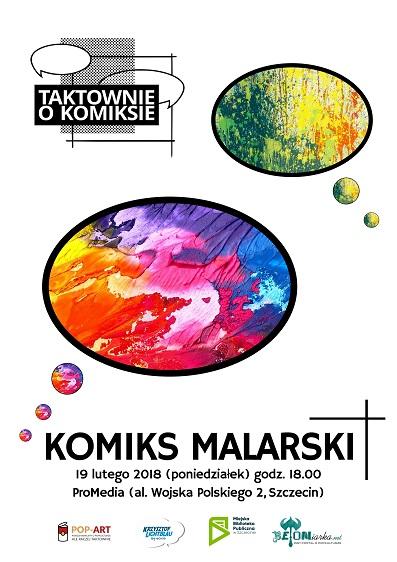 Taktownie O Komiksie 2018 - Komiks malarski