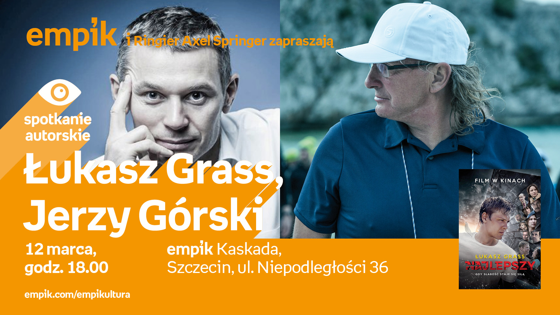 Spotkanie autorskie: Łukasz Grass, Jerzy Górski - Odwołane