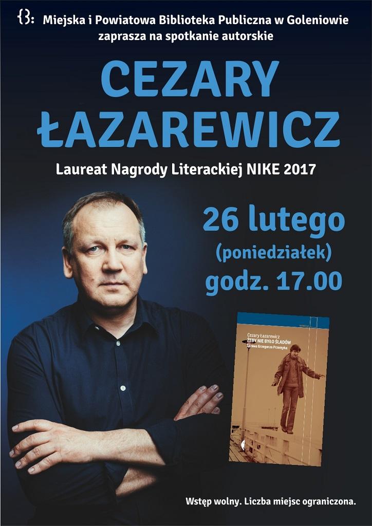 Spotkanie z Cezarym Łazarewiczem