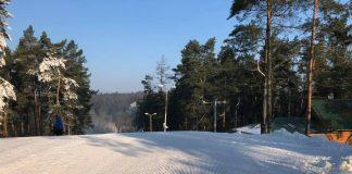 stok narciarski na Szczecińskiej Gubałówce