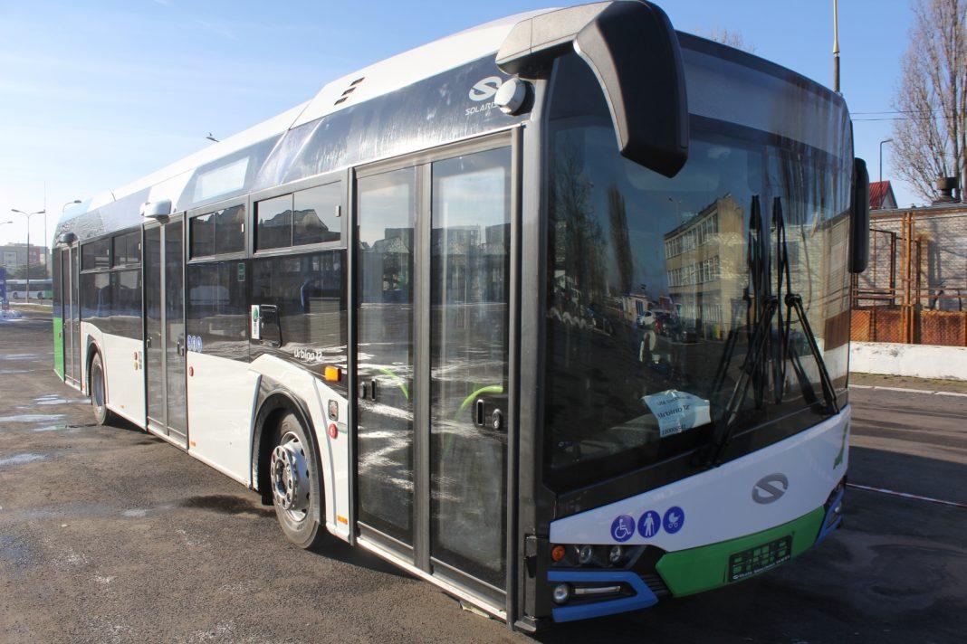 hybrydowe autobusy Solaris Szczecin
