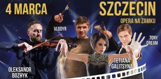 Piaskowy Koncert Muzyki Filmowej w Szczecinie